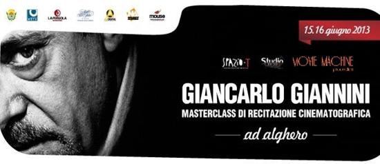 Masterclass di Recitazione con Giancarlo Giannini a Alghero