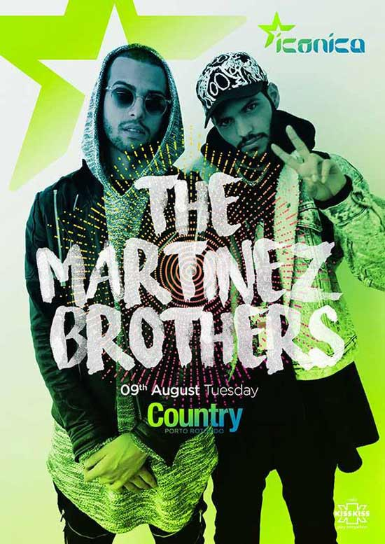 Martinez Brothers al Country Club a Porto Rotondo