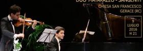 Duo Matarazzo - Sangeniti alla Chiesa San Francesco di Gerace