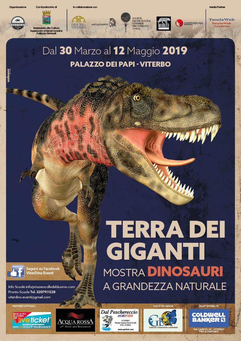 """Mostra """"Terra dei giganti"""" al Palazzo dei Papi a Viterbo"""