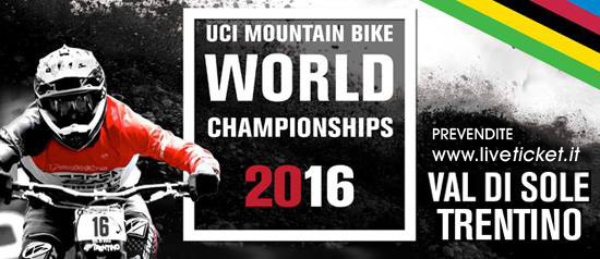 Coppa del Mondo di MOUNTAIN BIKE UCI 2016 in Val di Sole Trentino