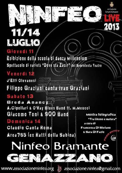 Ninfeo Live 2013 di Gennazzano