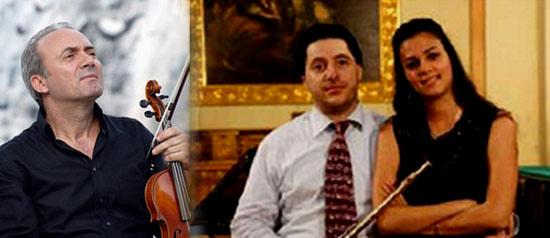 """Ginanneschi Berovski Franchina """"Fascino tra le Note del Classico"""" Rassegna musicale a Bologna"""