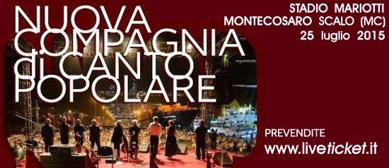 Nuova compagnia di canto popolare a Montecosaro Scalo