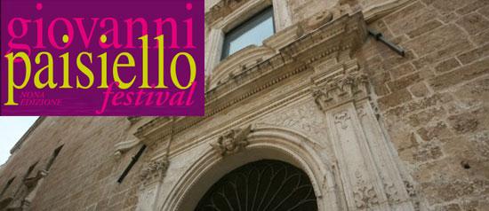XI° edizione Giovanni Paisiello Festival a Taranto