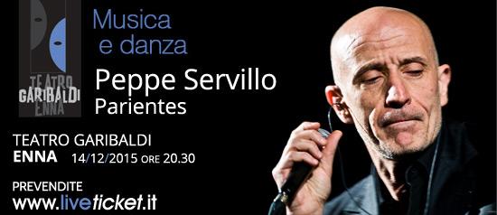 "Peppe Servillo ""Parientes"" al Teatro Garibaldi di Enna"