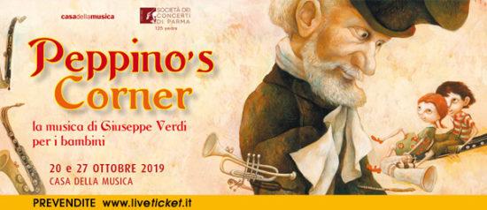 Peppino's Corner alla Casa della Musica a Parma