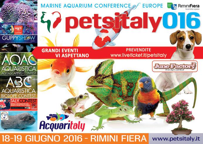 PetsItaly 2016 a Rimini Fiera
