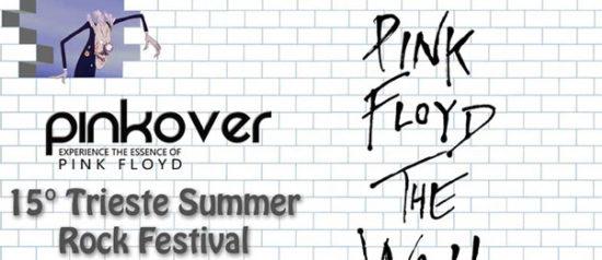 Pinkover - The Wall Show al Castello di San Giusto a Trieste