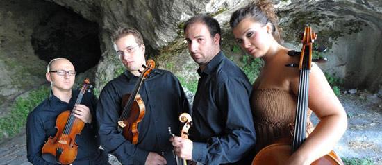 Quartetto Arquà in concerto al Palazzo Vitelleschi di Tarquinia