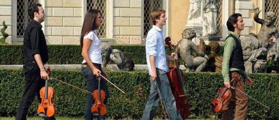 Quartetto Mirus all' Auditorium Marco Biagi di Modena
