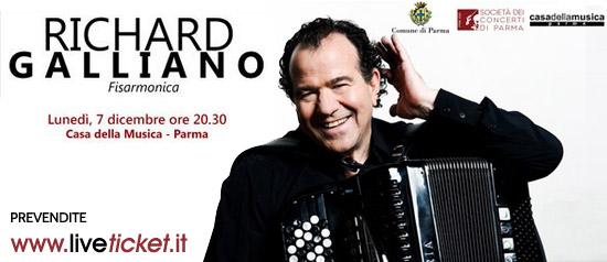 Richard Galliano alla Casa della Musica di Parma