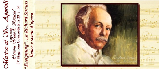 """Zueignunga Richard Strauss lieder e scene d'opera"" a Roma"