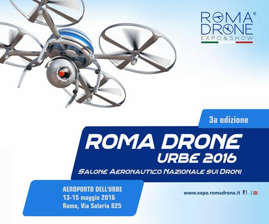 """""""Roma Drone Expo&Show 2016"""" all'Aeroporto dell'Urbe a Roma"""