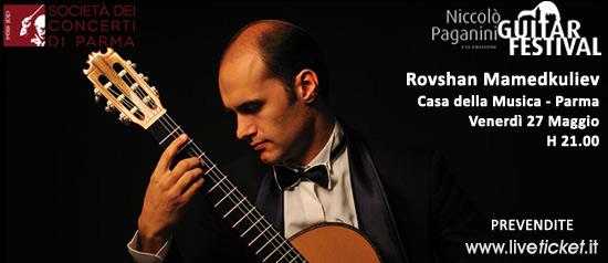 Rovshan Mamedkuliev in concerto alla Casa della Musica di Parma