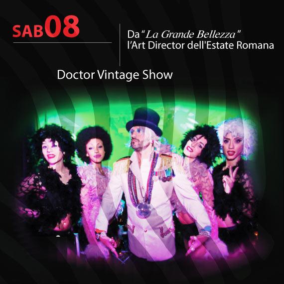 Doctor Vintage Show al Clubbino a San Nicola Arcella