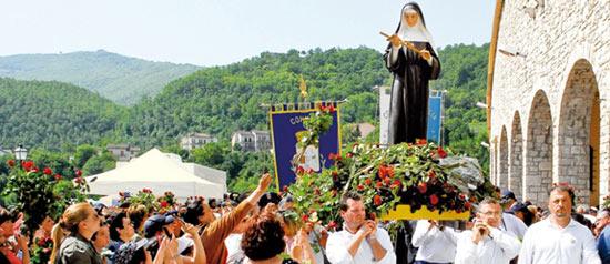 La Festa di Santa Rita a Cascia