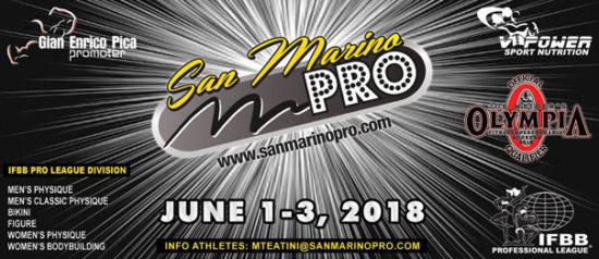 San Marino Pro IFBB Professional League al Palacongressi di Rimini