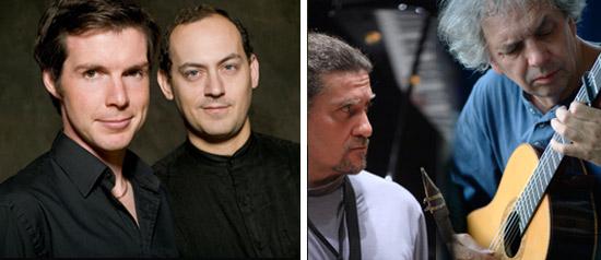 Gwilym Simcock – Yuri Goloubev, Ralph Towner – Javier Girotto