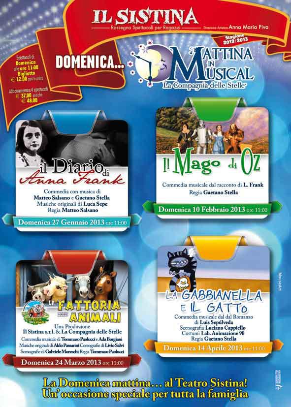"""""""Domenica Mattina in Musical"""" al Sistina"""