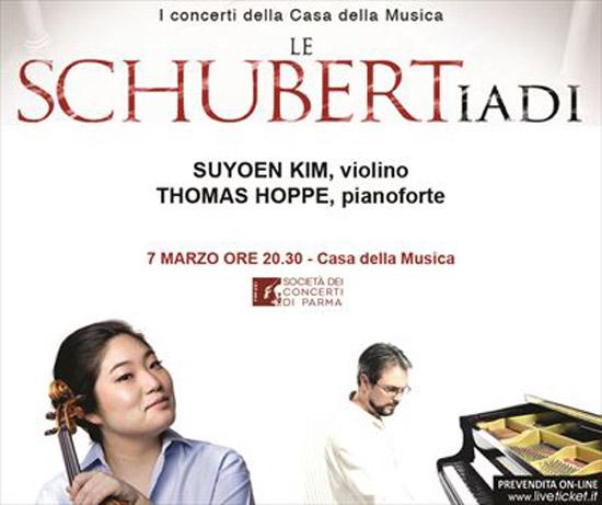 Suyoen Kim e Thomas Hoppe alla Casa della Musica di Parma