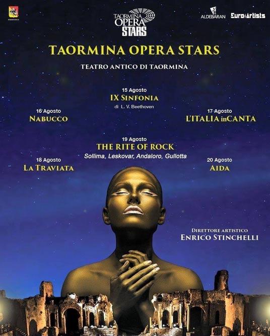 Taormina Opera Stars al Teatro Antico di Taormina