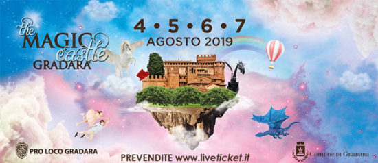 THE MAGIC CASTLE GRADARA 2019: LE FANTASTICHE INVASIONI
