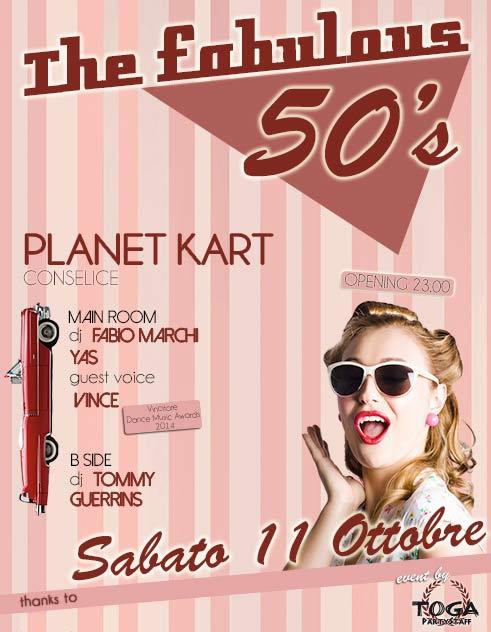 The fabulous 50's al Planet Kart di Conselice