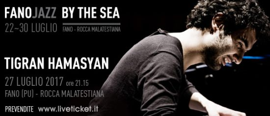 Tigran Hamasyan al Fano Jazz by the Sea 2017