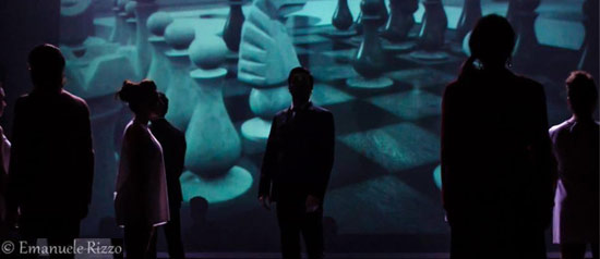 Ultima mossa Chess Il musical al Teatro Ambra alla Garbatella di Roma