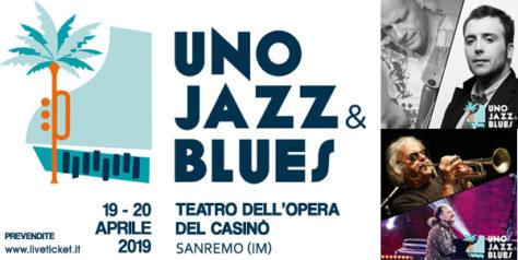 Unojazz & Blues al Teatro dell'Opera del Casinò di Sanremo