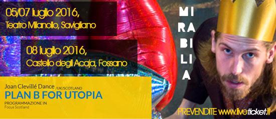 "Joan Clevillé Dance ""Plan B for UTOPIA"" al Mirabilia Festival 2016"