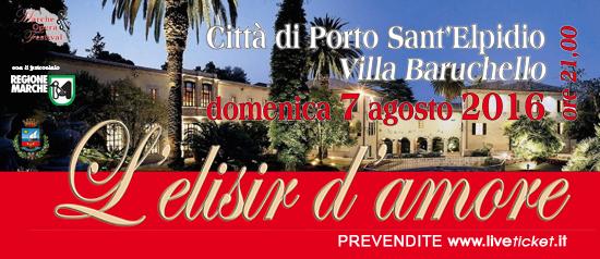 Villa Baruchello L'Elisir d'Amore