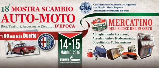 Vintage Forum e Mostra Auto-Moto d'Epoca a Fermo