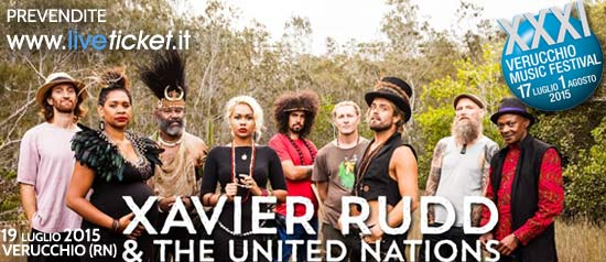 Xavier Rudd & The United Nations al Verucchio Music Festival