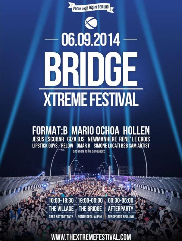 Bridge Xtreme Festival 2014 - Ponte degli Alpini Belluno