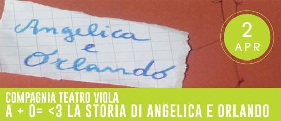 La storia di Angelica e Orlando all'Auditorium Paolo Colapietro di Frosinone