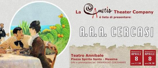 A.A.A. cercasi al Teatro Annibale di Francia a Messina