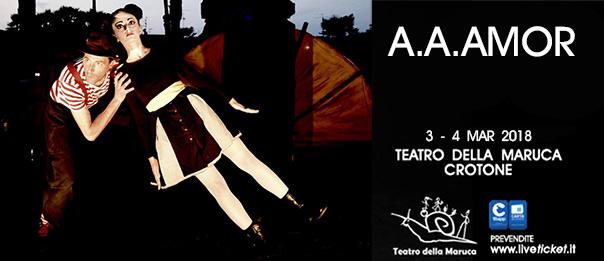 A.a.amor al Teatro della Maruca a Crotone