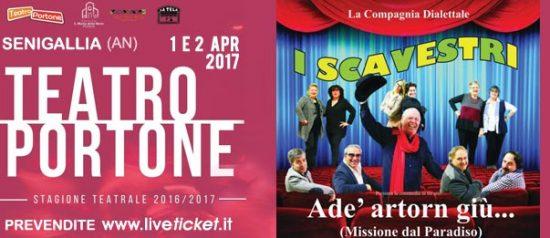 Adè artorn giù aAdè artorn giù... al Teatro Portone di Senigallial Teatro Portone di Senigallia