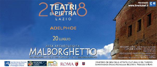 Adelphoe (I fratelli) all'Area Archeologica Malborghetto a Roma