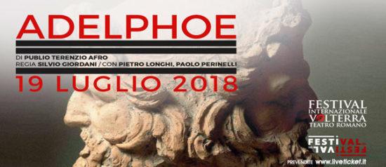 Adelphoe (I fratelli) al Teatro Romano a Volterra