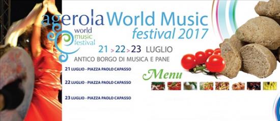 Agerola World Music Festival 2017 a Piazza Paolo Capasso ad Agerola