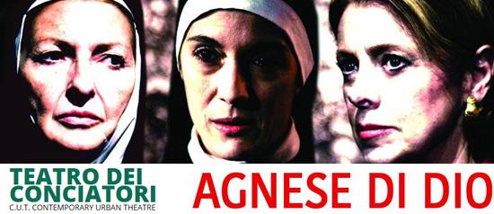 """""""Agnese di Dio"""" al Teatro dei Conciatori di Roma"""