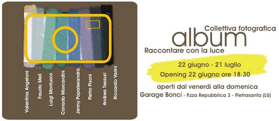 Album - Raccontare con la luce al Garage Bonci a Pietrasanta