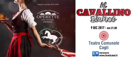 """Compagnia Italiana di Operette """"Al Cavallino Bianco"""" al Teatro Comunate di Cagli"""