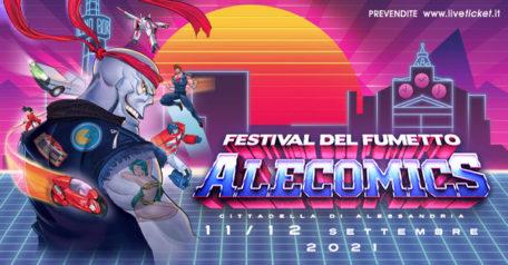 ALECOMICS - Festival del fumetto, del gioco e della cultura pop ad Alessandria
