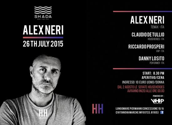 Househeroes Alex Neri al Shada Beach Club a Civitanova Marche