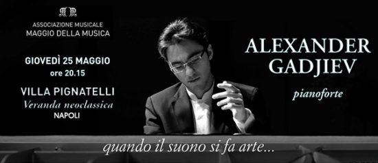"Alexander Gadjiev "" Musiche di Chopin"" a Villa Pignatelli a Napoli"