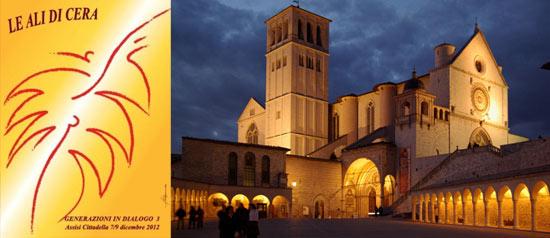 """""""Le ali di cera. Generazioni in dialogo"""" alla Cittadella di Assisi"""